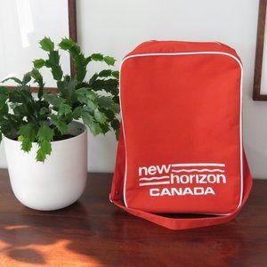 Vintage New Horizon Canada Travel Bag, Shoulder Bag, Tote